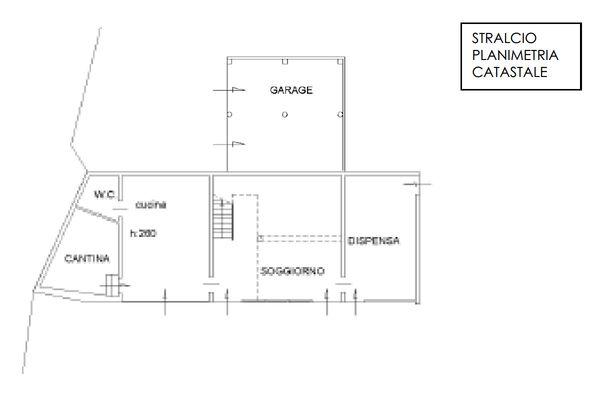 Immagine n1 - Planimetria - Piano terra - Asta 10899