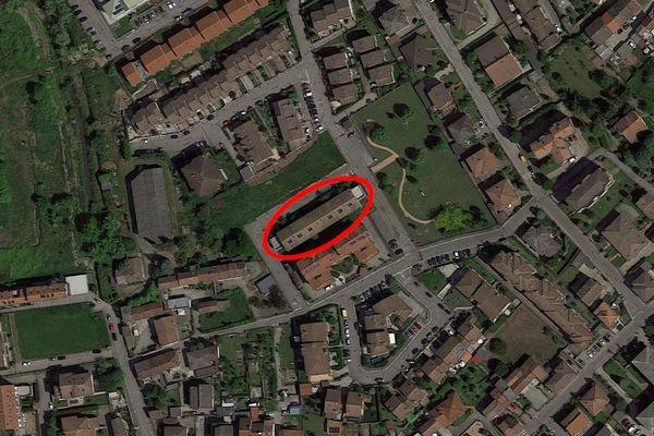 Immagine n1 - Planimetria - Vista aerea - Asta 10966