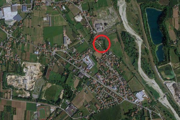 Immagine n0 - Planimetria - Vista aerea - Asta 10968