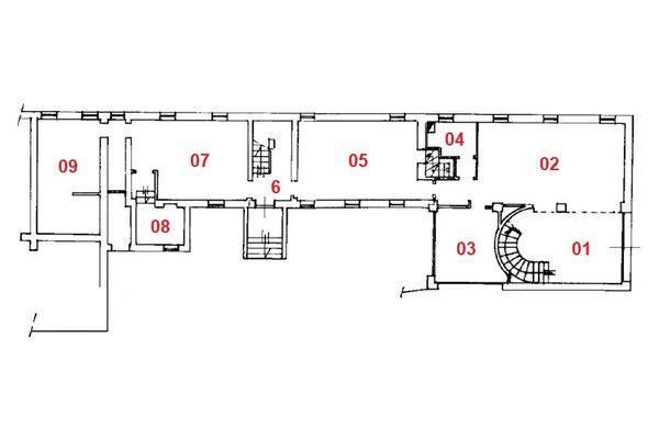 Immagine n2 - Planimetria - Piano terra - Asta 10968