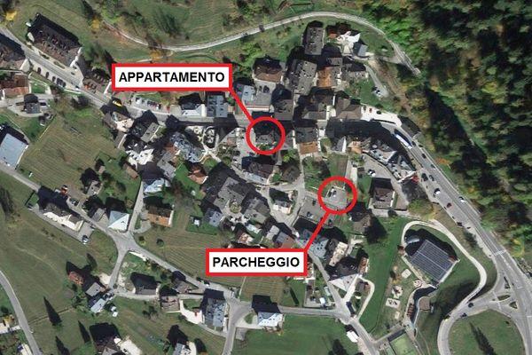 Immagine n0 - Planimetria - Vista aerea - Asta 10981