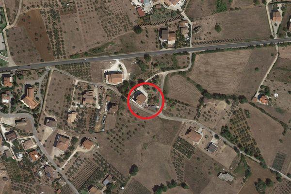 Immagine n0 - Planimetria - Vista aerea - Asta 10986