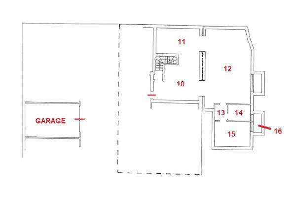 Immagine n0 - Planimetria - Piano interrato - Asta 11042