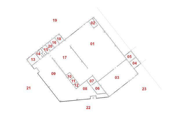 Immagine n0 - Planimetria - Piano terra - Asta 11100