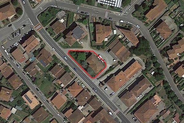 Immagine n2 - Planimetria - Vista aerea - Asta 11102