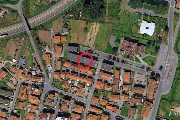 Immagine n0 - Planimetria - Vista aerea - Asta 11142