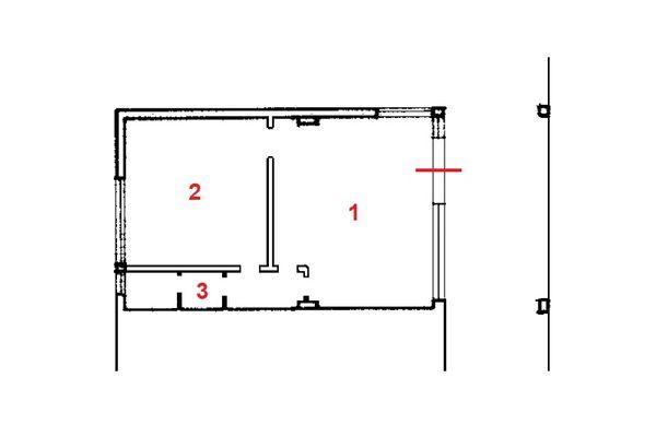Immagine n1 - Planimetria - Piano terra - Asta 11142