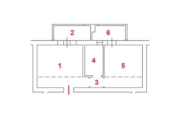 Immagine n1 - Planimetria - Piano secondo - Asta 11147