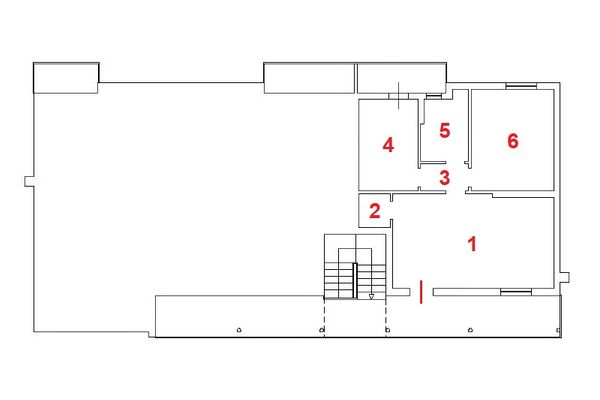 Immagine n1 - Planimetria - Piano primo - Asta 11156