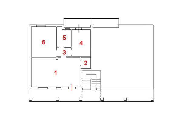 Immagine n1 - Planimetria - Piano primo - Asta 11157