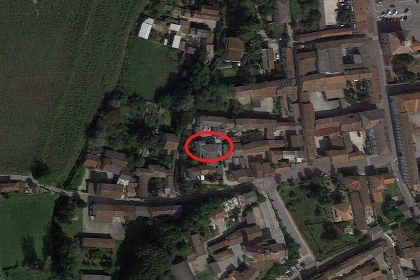 Immagine n0 - Planimetria - Vista aerea - Asta 11159
