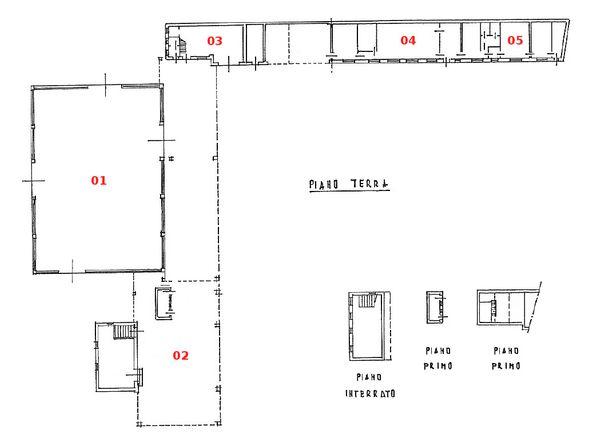 Immagine n4 - Planimetria - Complesso industriale - Asta 1118