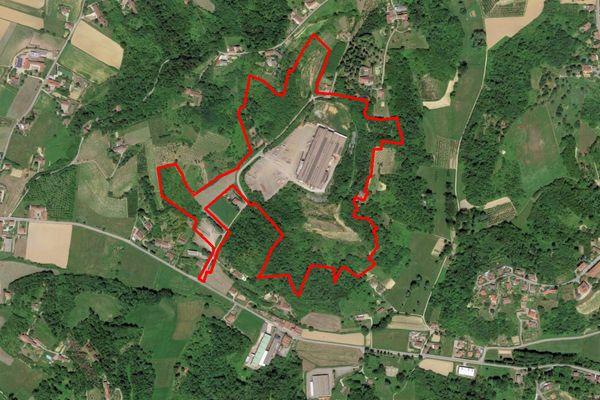 Immagine n1 - Planimetria - Vista aerea - Asta 11193