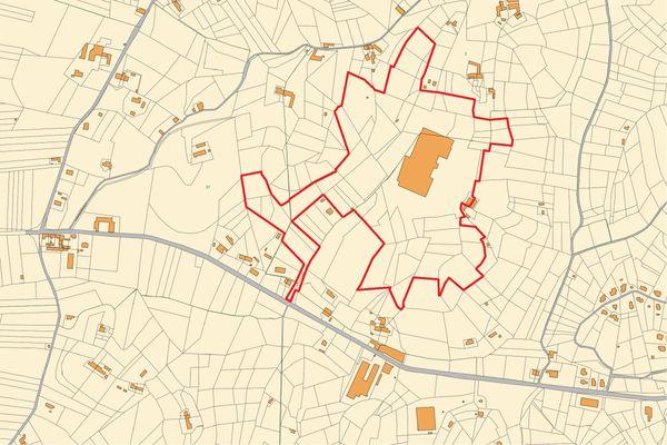 Immagine n1 - Planimetria - Estratto di mappa - Asta 11193