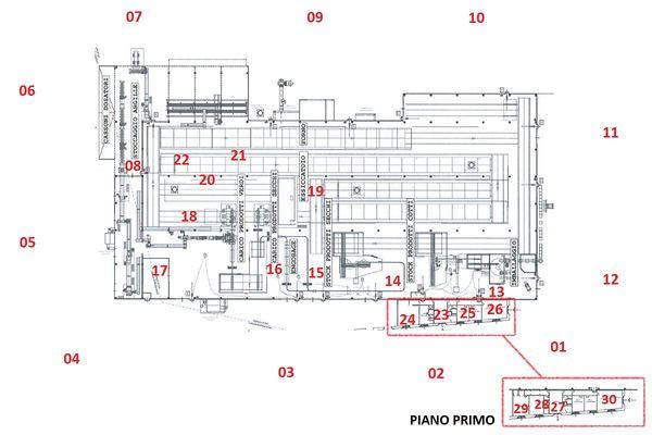 Immagine n2 - Planimetria - Pianta del complesso - Asta 11193