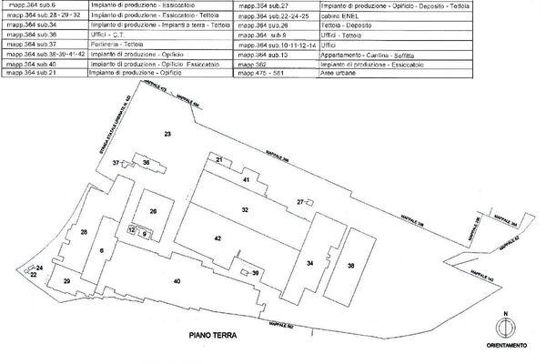 Immagine n14 - Planimetria - Localizzazione PT - Asta 11194