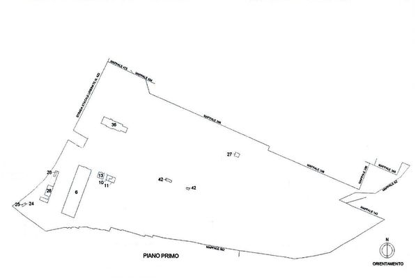 Immagine n2 - Planimetria - Localizzazione P1 - Asta 11194
