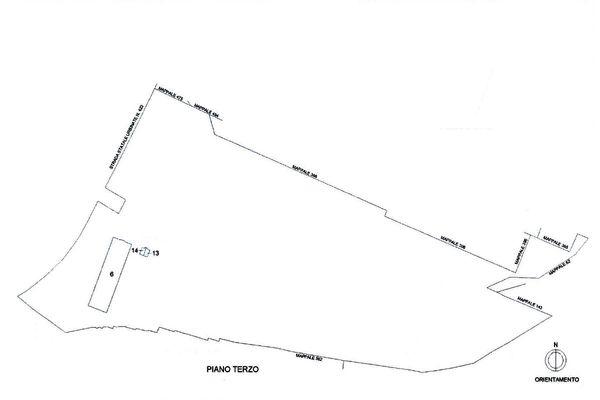 Immagine n4 - Planimetria - Localizzazione P3 - Asta 11194