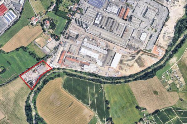 Immagine n1 - Planimetria - Vista aerea - Asta 11195
