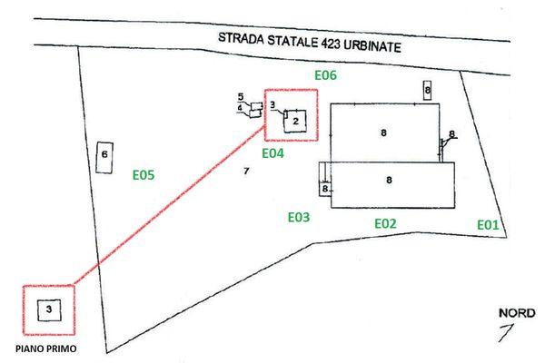 Immagine n1 - Planimetria - Elaborato planimetrico - Asta 11195