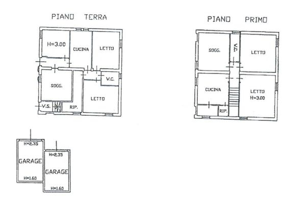 Immagine n0 - Planimetria - Abitazione - Asta 11195