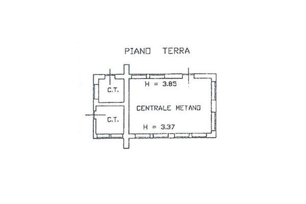 Immagine n0 - Planimetria - Centrale Gas-Metano - Asta 11195