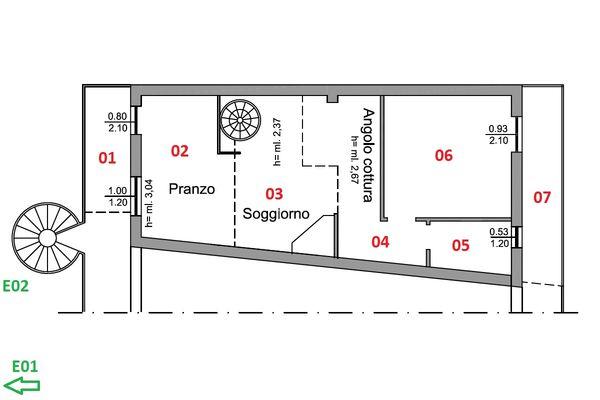 Immagine n0 - Planimetria - Piano primo - Asta 11197