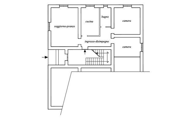 Immagine n0 - Planimetria - Piano terra - Asta 11198