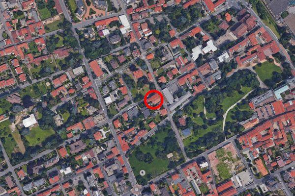 Immagine n2 - Planimetria - Vista aerea - Asta 11206