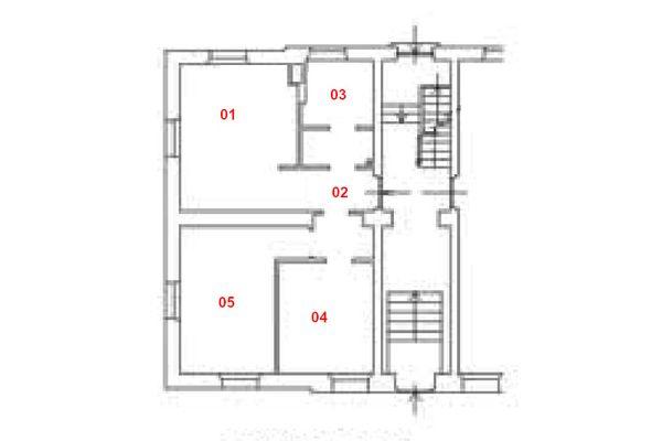 Immagine n1 - Planimetria - Piano terra - Asta 11206