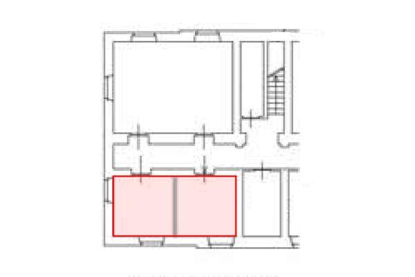 Immagine n2 - Planimetria - Piano interrato - Asta 11206