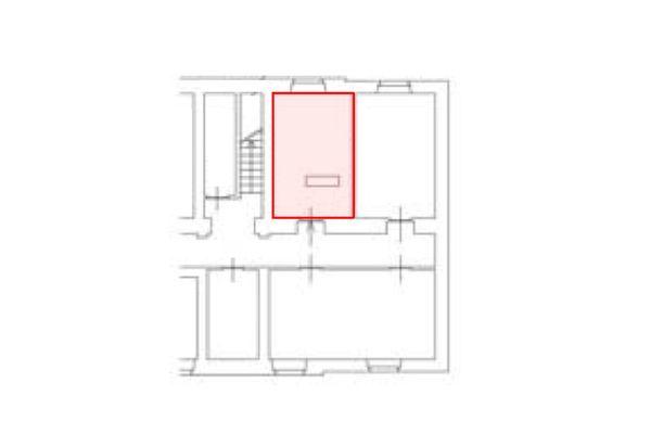 Immagine n1 - Planimetria - Piano interrato - Asta 11207