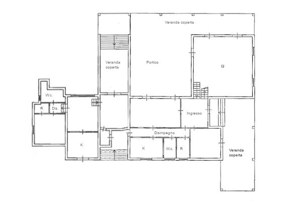 Immagine n1 - Planimetria - Piano terra - Asta 11214