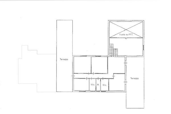 Immagine n2 - Planimetria - Piano primo - Asta 11214