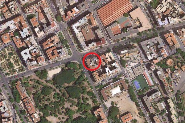 Immagine n0 - Planimetria - Vista aerea - Asta 11220