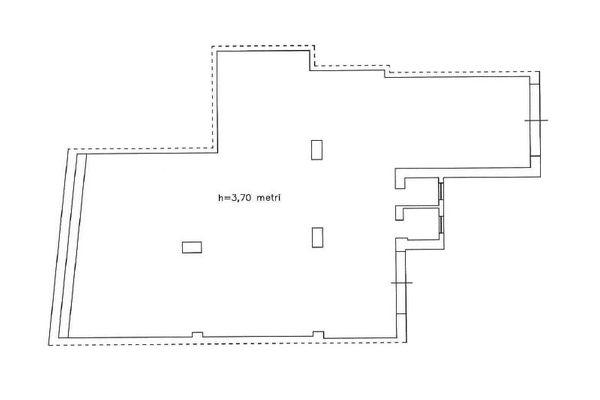 Immagine n1 - Planimetria - Piano seminterrato - Asta 11220