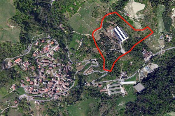 Immagine n0 - Planimetria - Vista aerea - Asta 1143
