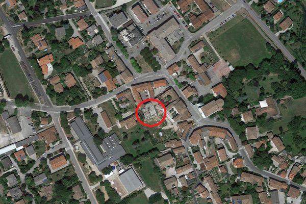 Immagine n0 - Planimetria - Vista aerea - Asta 11435