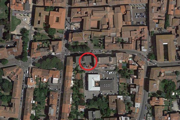 Immagine n0 - Planimetria - Vista aerea - Asta 11442