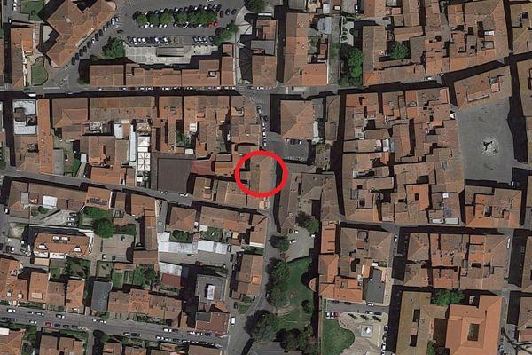 Immagine n0 - Planimetria - Vista aerea - Asta 11443