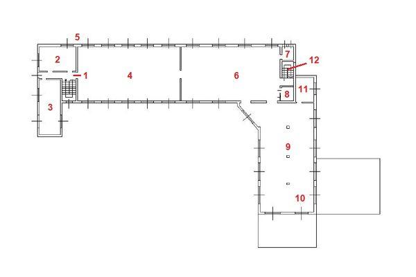 Immagine n1 - Planimetria - Piano terra - Asta 11444