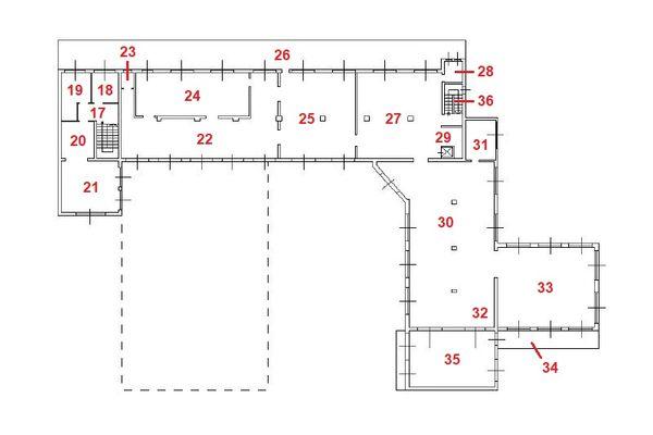 Immagine n3 - Planimetria - Piano sottostrada 1 - Asta 11444