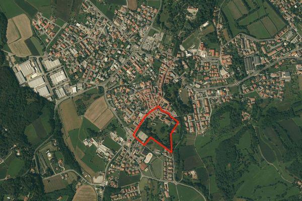 Immagine n0 - Planimetria - Vista aerea - Asta 1147