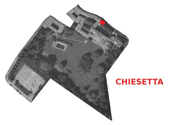Immagine n0 - Planimetria - Chiesetta - Asta 1147