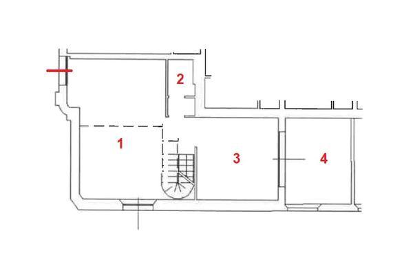 Immagine n0 - Planimetria - Piano terra - Asta 11476