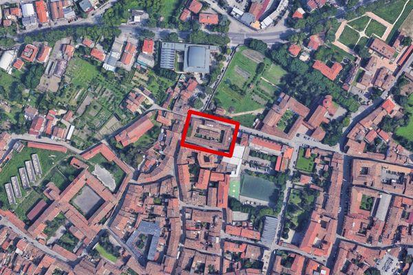 Immagine n0 - Planimetria - Vista aerea - Asta 11478
