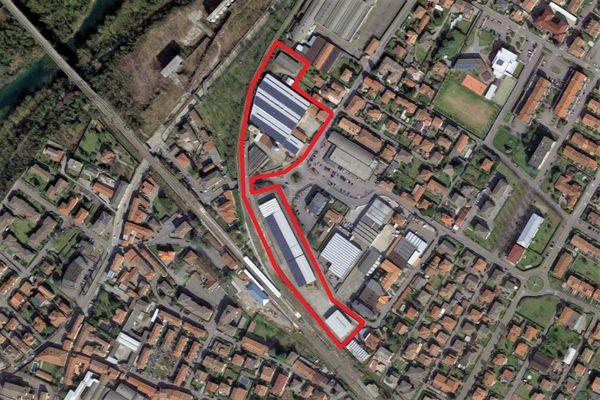 Immagine n0 - Planimetria - Vista aerea - Asta 11495