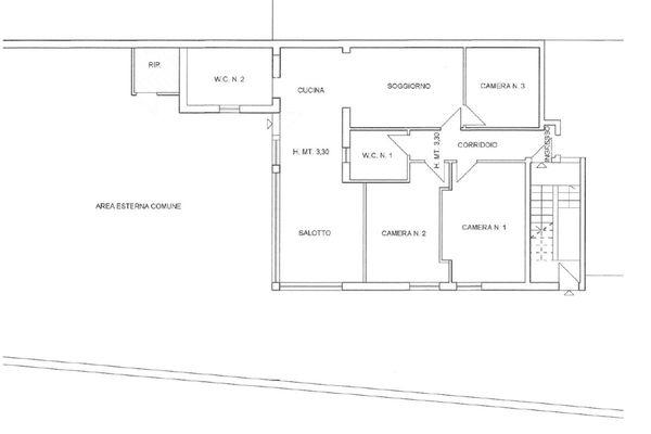 Immagine n0 - Planimetry - Ground floor - Asta 11502