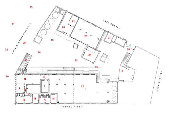 Immagine n0 - Planimetria - Piano terra - Asta 11508