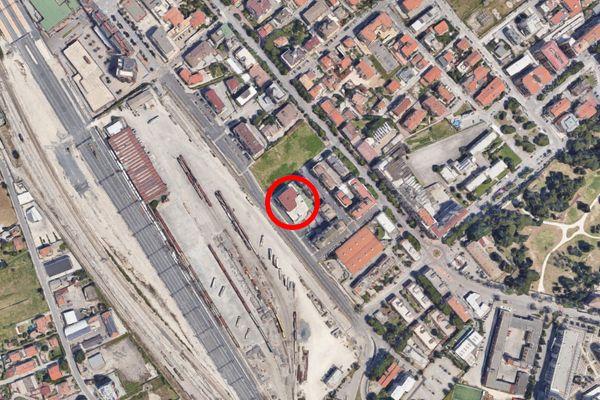 Immagine n0 - Planimetria - Vista aerea - Asta 11593